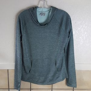 Zella Brand Poncho front athletic hoodie Size M